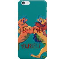 Defend Yourself iPhone Case/Skin