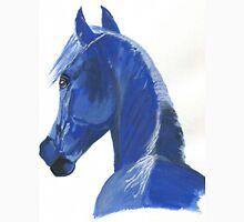 Moody Blue Horse Unisex T-Shirt
