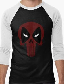 DeadPunisher 3 Men's Baseball ¾ T-Shirt