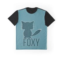 Foxy and Welcome to the Woods Graphic T-Shirt