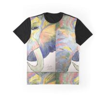 colored elephant Graphic T-Shirt