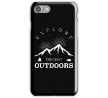 Outdoor Explorer iPhone Case/Skin
