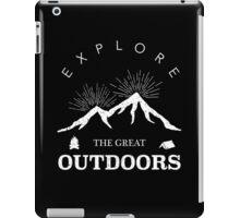 Outdoor Explorer iPad Case/Skin