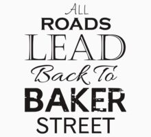All Roads Lead Back To Baker Street One Piece - Short Sleeve