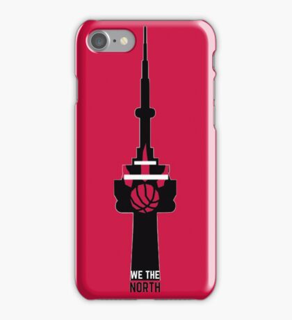 Toronto Raptors We The North (CN Tower) iPhone Case/Skin