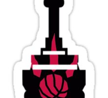 Toronto Raptors We The North (CN Tower) Sticker