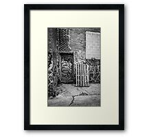 Exit to the Streets Framed Print