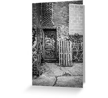 Exit to the Streets Greeting Card