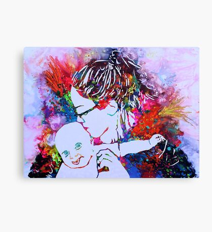 Pooka Doll Canvas Print