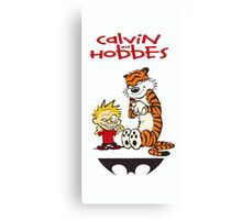 calvin and hobbes 313 Canvas Print