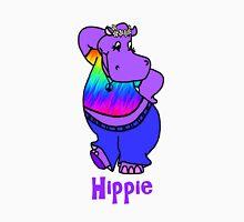 Hippie Hippo Unisex T-Shirt
