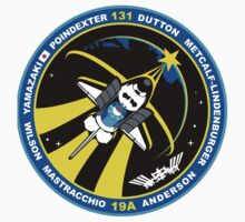 STS-131 Mission Patch Kids Tee