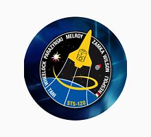 STS-120 NASA's Version of the Mission Patch Unisex T-Shirt