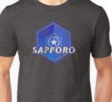 Sapporo Municipality Japanese Symbol Distressed Unisex T-Shirt