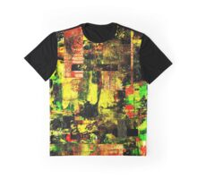 Bright Autumn Colours Collage Graphic T-Shirt