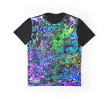 Violet Blue Blocks Graphic T-Shirt