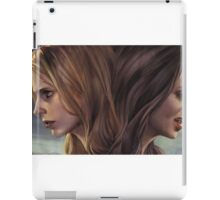Buffy and Faith iPad Case/Skin