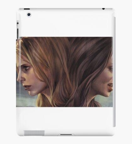 Buffy and Faith iPad Case/Skin