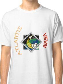 STS-122 Atlantis Mission Logo Classic T-Shirt