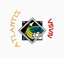 STS-122 Atlantis Mission Logo Unisex T-Shirt