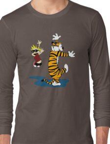 Calvin & Hobbes Dance Long Sleeve T-Shirt