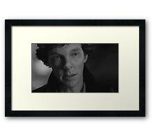 Because... You Chose Her Framed Print