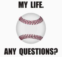 My Life Baseball Kids Tee