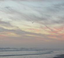 Calming Waters, Soothing Sky Sticker