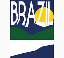 Brazil Travel Poster Unisex T-Shirt