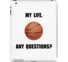My Life Basketball iPad Case/Skin
