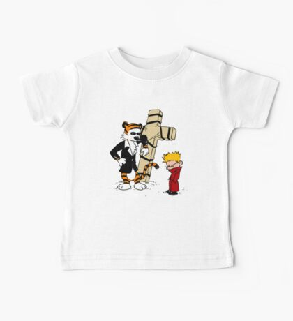 calvin and hobbes Funny Baby Tee