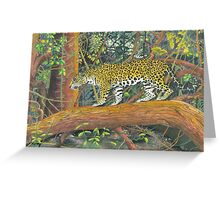 Jaguar Brazil Greeting Card