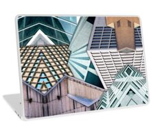 City Buildings Abstract Laptop Skin