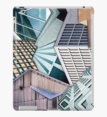 City Buildings Abstract iPad Case/Skin