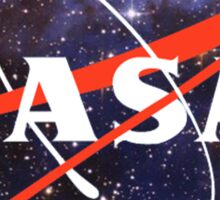 nasa space Sticker