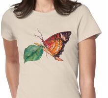 Butterfly Song Tee Womens Fitted T-Shirt