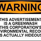 Greenwash Warning by Rob Price