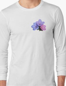 Mary and Joseph Spring Flowers Long Sleeve T-Shirt
