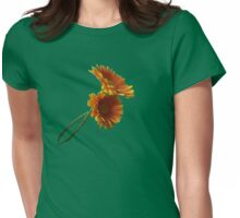 Daisy Duo Tee Womens Fitted T-Shirt