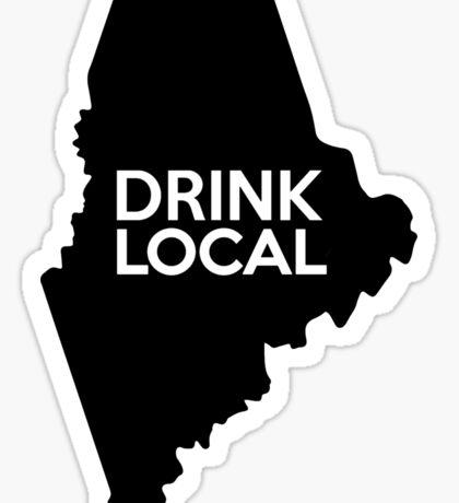 Maine Drink Local ME Sticker
