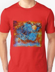 Mystic Moon at the Mountains of Madness  Unisex T-Shirt
