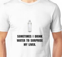 Water Surprise Liver Unisex T-Shirt
