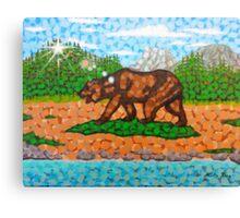The California Republic Landscape Canvas Print
