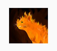 Firey Inferno Kitty Cat Unisex T-Shirt