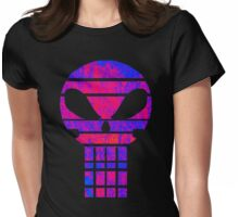 The Electric Skull  Womens Fitted T-Shirt