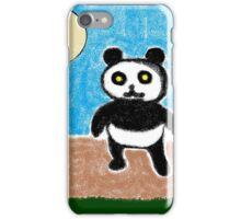 Yellow Eyes Panda iPhone Case/Skin