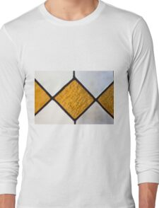 Vinage Stained Glass Long Sleeve T-Shirt