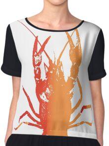 Red Lobster Women's Chiffon Top
