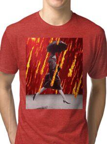 A Rainy Day Tri-blend T-Shirt