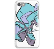 Abstract Monster-Cloud iPhone Case/Skin